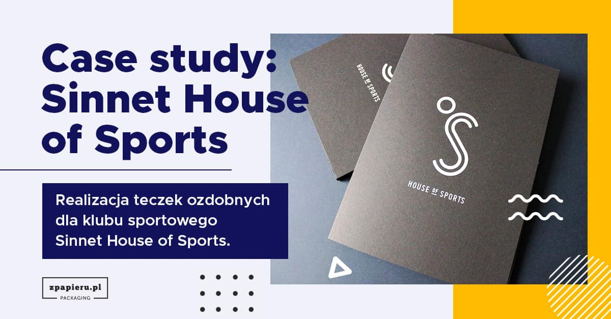 Teczki na dokumenty dla  Sinnet House of Sports